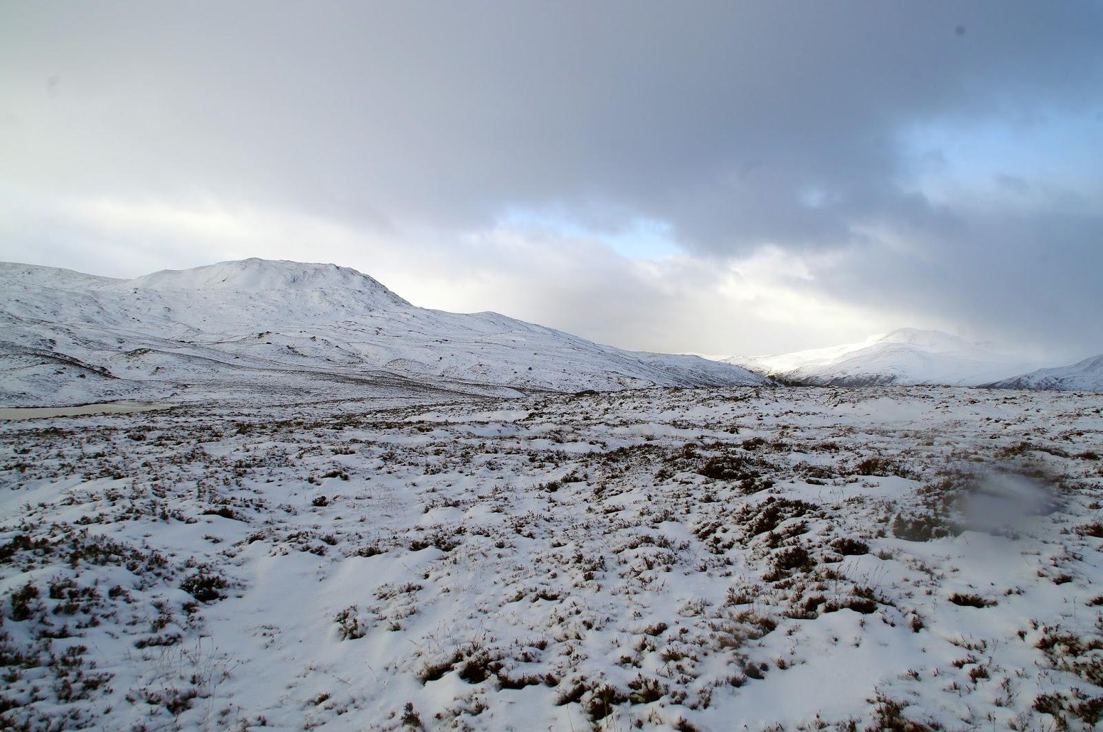 Scottish Highlands Snow