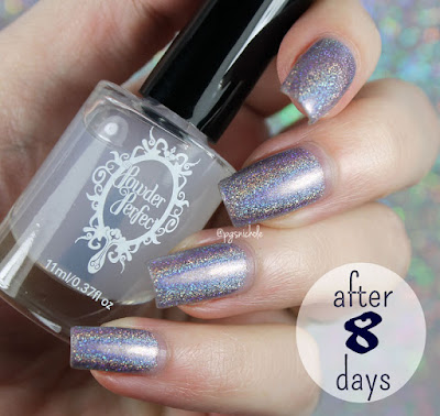 Powder Perfect Flawless Fortifying Base Coat • Day 8