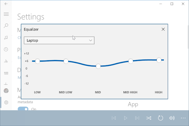 How To Use The Equalizer In Groove Music App