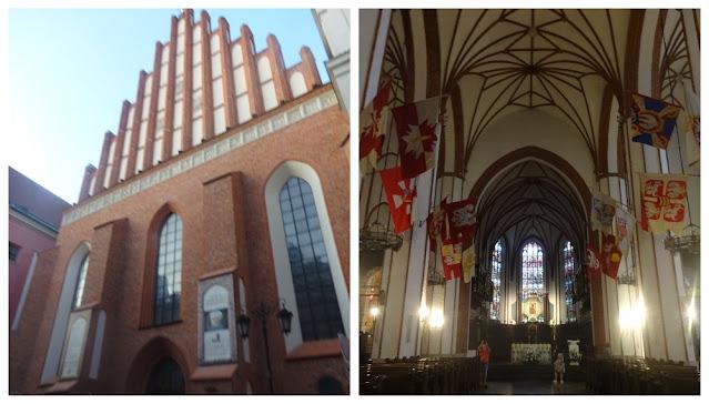 Varsóvia: Segunda Guerra Mundial, o Levante de Varsóvia,  destruição e reconstrução da cidade, entrando para a lista de patrimônios da UNESCO - catedral