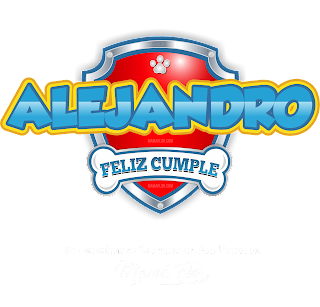 Logo de Paw Patrol: Alejandro