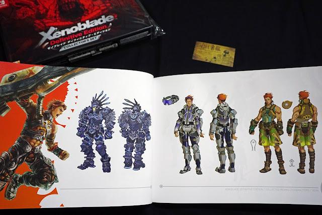 DSC01939 - 異域神劍 異度神劍 終極版 遊戲限定版畫集  ゼノブレイド ディフィニティブ・エディション / Xenoblade Definitive Edition / Xenoblade Chronicles: Definitive Edition