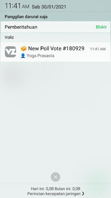 Cara Membuat Polling di Whatsapp 16