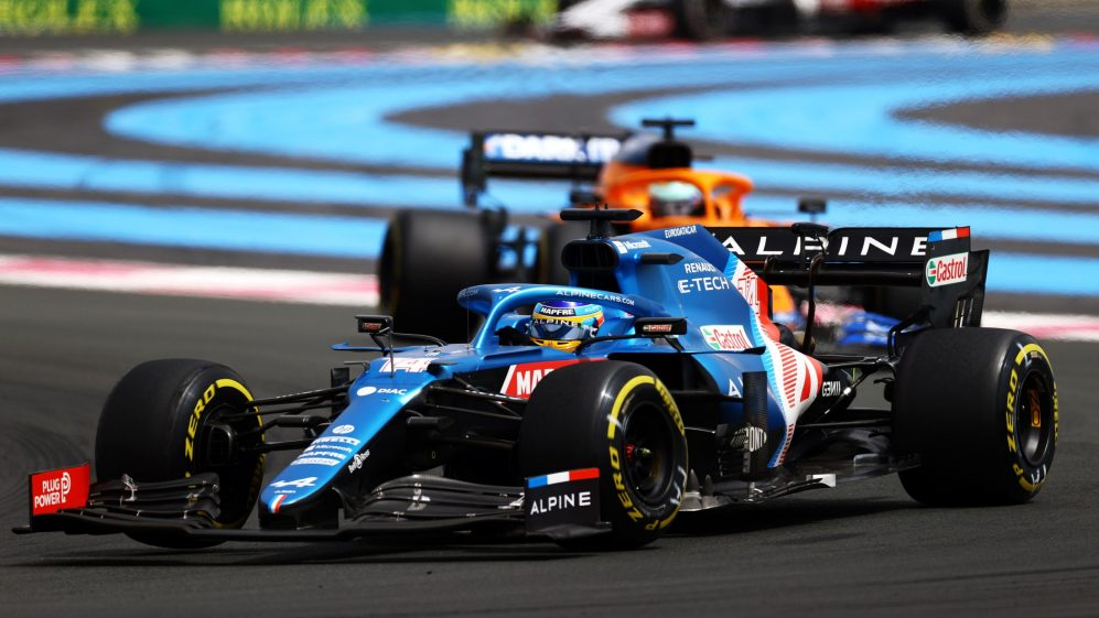 Alonso está começando a se recuperar na Alpine e trazer pontos mais consistentes para casa