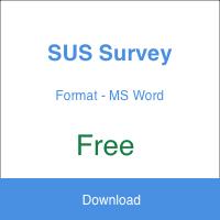 SUS Survey Form Template