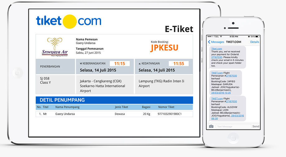 Cara Pesan Tiket Pesawat Online Di Tiket Com Lebih Mudah Murah Dan Efisien Travelagen Net
