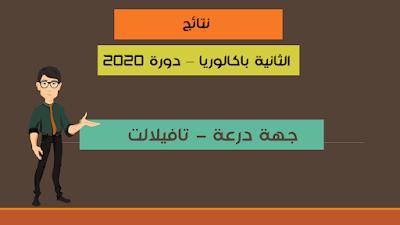 نتائج الباكالوريا 2020 لجهة درعة - تافيلالت في ملف واحد
