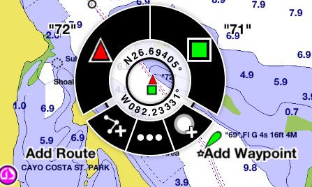 i-Marine Apps: Garmin BlueChart Mobile Trip Planning App