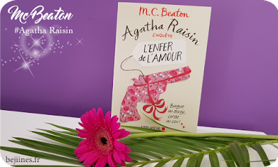 Livre - Agatha Raisin : Tome 11 - L'enfer de l'Amour (MC Beaton)