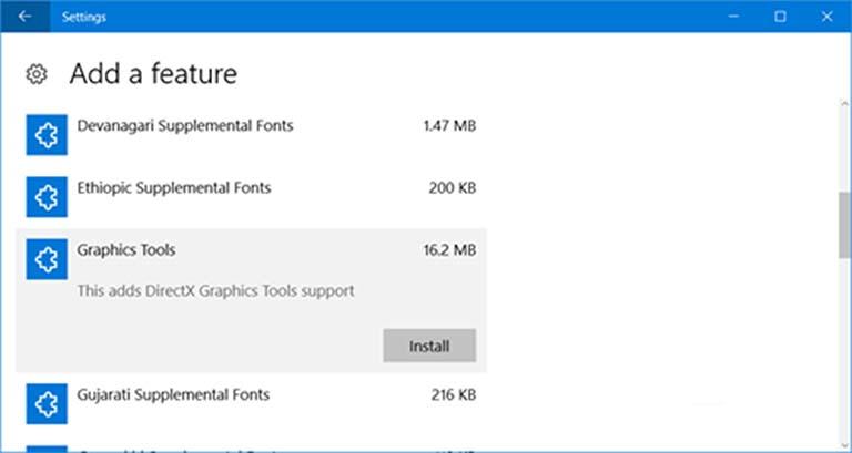 Cara Mengelola Fitur Opsional Windows 10