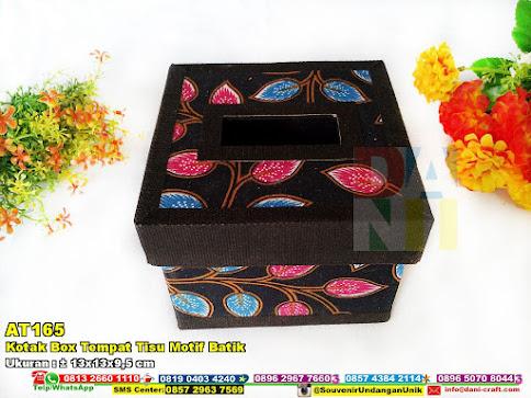 Kotak Box Tempat Tisu Motif Batik