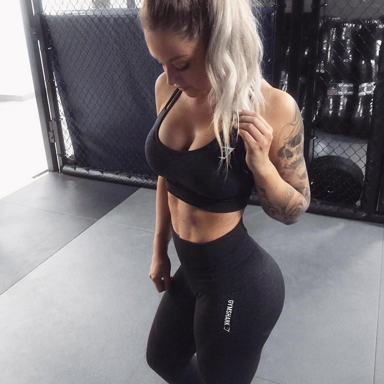 Johanna Modin Swedish Fitness Model