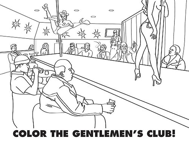 The Coolest Coloring Books For Grown-Ups Part III - 25 New Adult ...