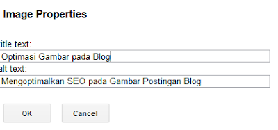 Mengoptimalkan SEO pada Gambar Postingan Blog
