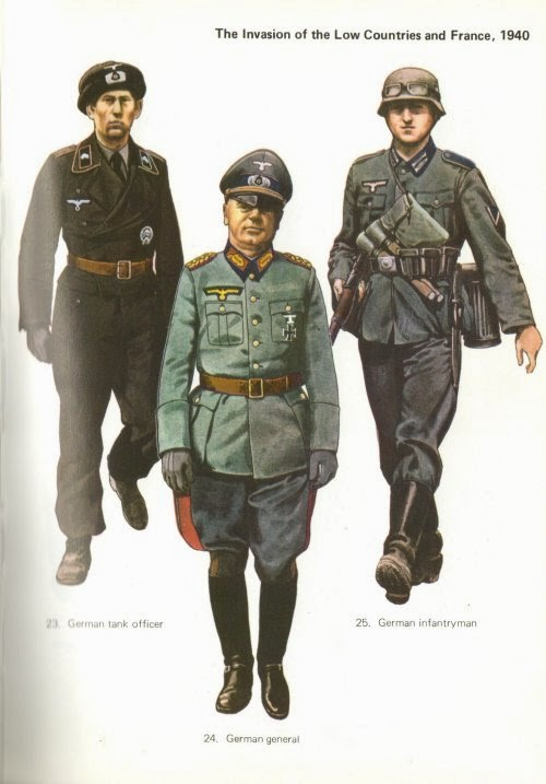 Early War German Infantry Uniforms Pictures 3