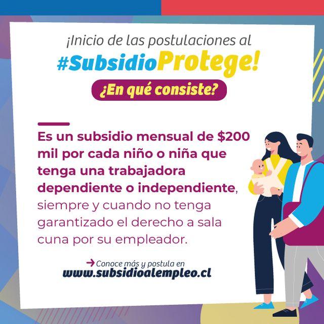 """Subsidio """"Protege"""""""