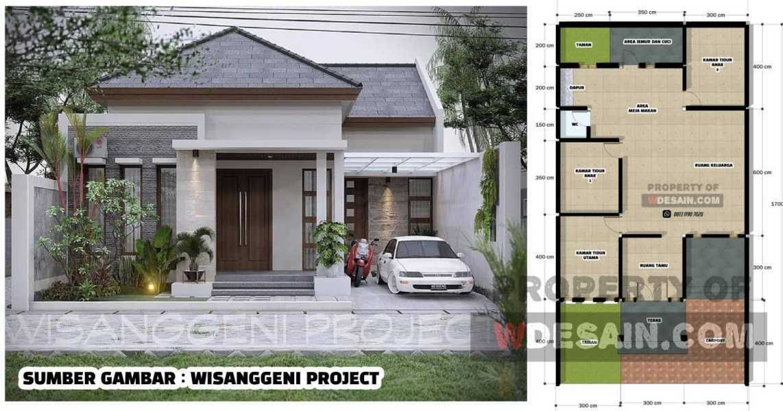 Permalink to Koleksi √240 Trend Desain Rumah Minimalis Modern 2 Lantai 7×12 Terlaris