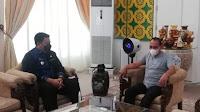 Jelang Idul Fitri, Vandiko Gultom Silaturahmi Temui Gubsu Edy Rahmayadi