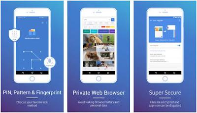 Aplikasi Pengunci Galeri di Android - 1