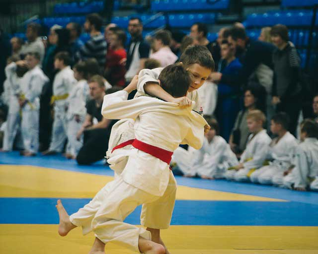 Brass tacks for Japanese judoka