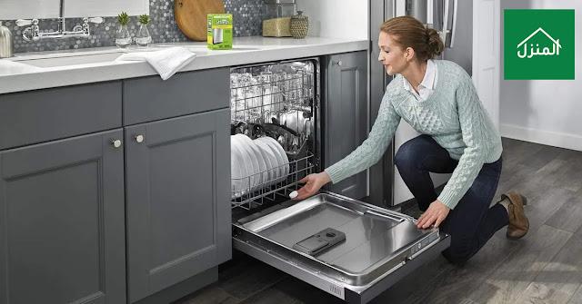 تركيب غسالة الصحون ضمن ديكور المطبخ
