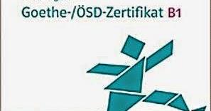 Mit Erfolg Zum Zertifikat Deutsch B1 Pdf