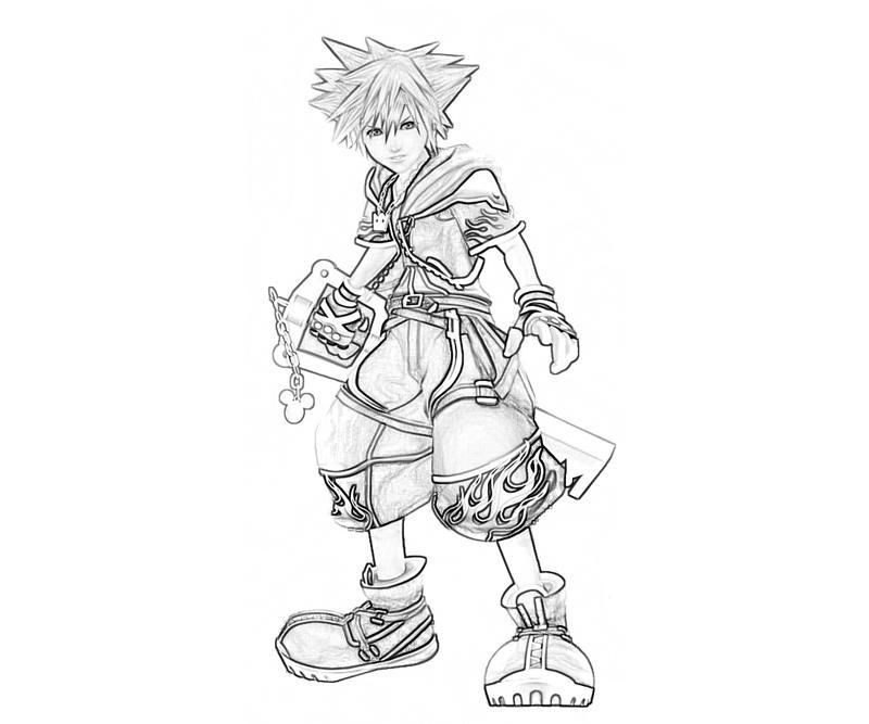 Kingdom Hearts Sora Characters