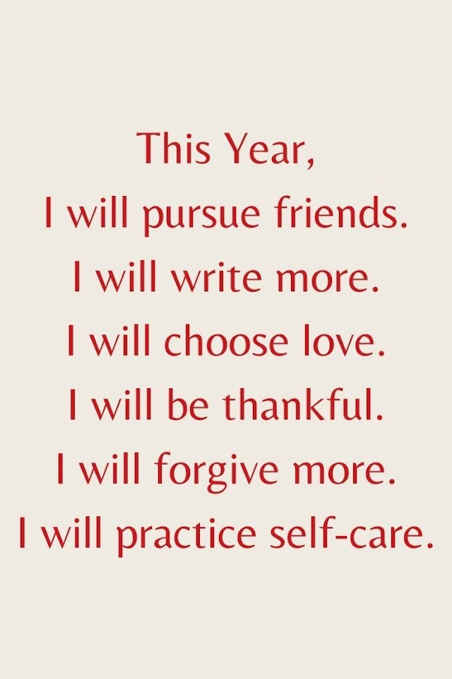 This Year I Will Pursue Friends - Quotes Top 10 Updated