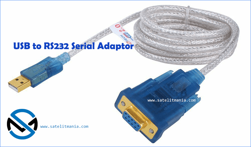 USB to RS232 Female DB9 Adapter
