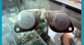 Persamaan Fungsi Transistor 2N3055 Dan MJ2955