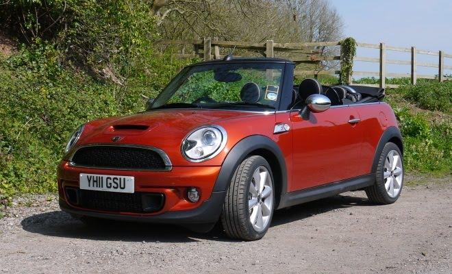 Mini Cooper Sd Convertible Front