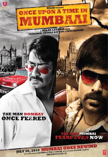 Poster Of Once Upon a Time in Mumbaai 2010 720p Hindi BRRip Full Movie Download