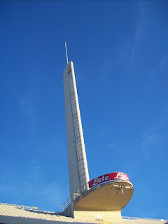 The Tower of Marathon at the Stadio Artemio Franchi, home of Fiorentina