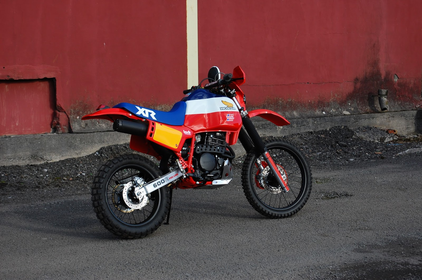 Honda Nx650 Dominator Streettracker Project