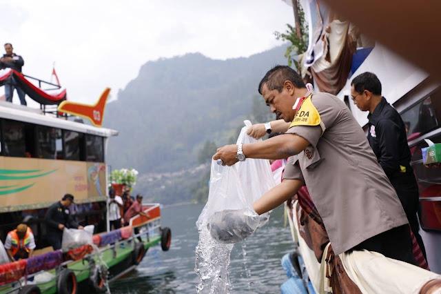 PTLF 2019 akan Tabur 25 Ribu Bibit Ikan, Ini Kata Kapoldasu