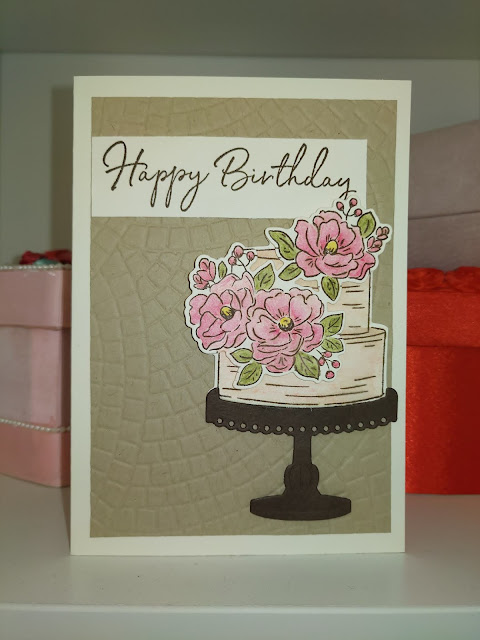 Stampin' Up! Happy Birthday To You Sale-a-bration Card