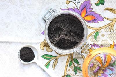 sel noir coriandre