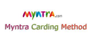 Myntra carding