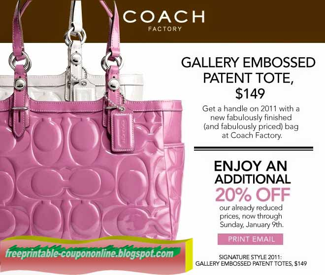 Coach coupon code