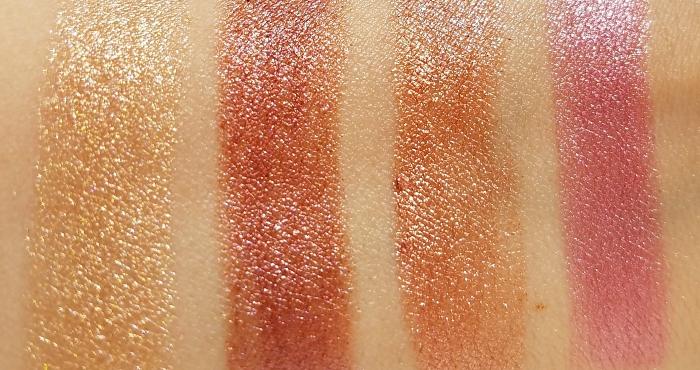 Swatches: L´Oréal Paris - Crushed Foil Lipsticks - 4.3g - 8.95 Euro