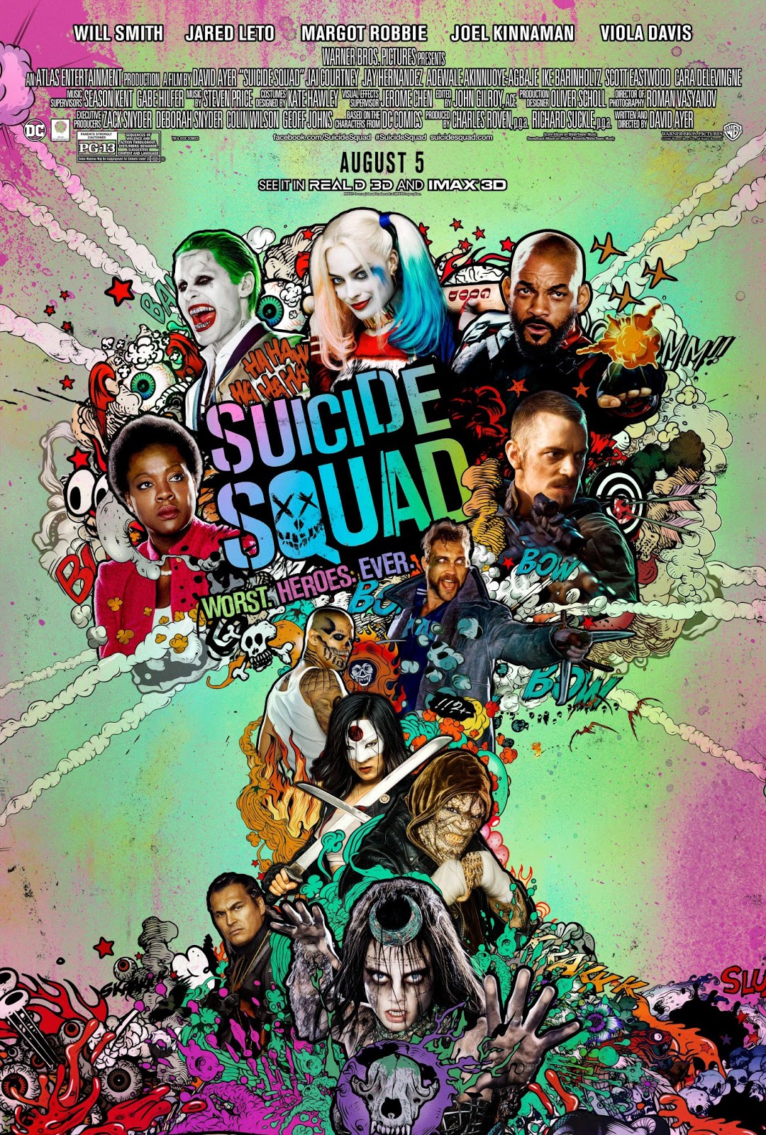 ece631254cd1b5 Margot Robbie for the Movie: Suicide Squad, 2016 | BlueisKewl