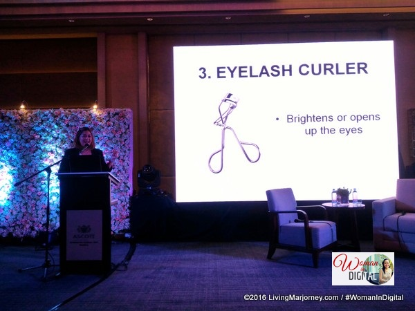 Cristine Duque talked about 5 Makeup must-haves