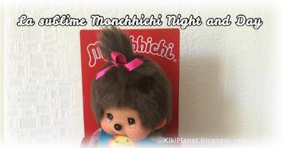 kiki monchhichi nigh day riboulant yeux blink rare cute