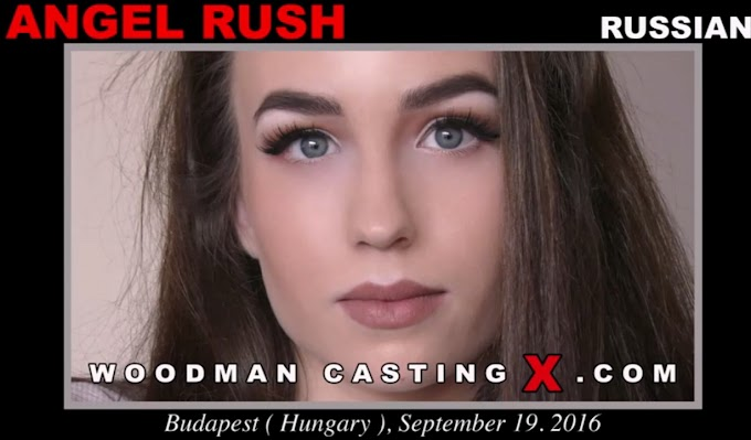 Angel Rush - Woodman Casting X (2020) HD 720p