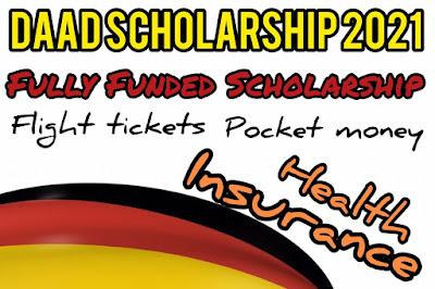 منحة DAAD للدراسة في ألمانيا 2020-2021  DAAD Scholarship 2021