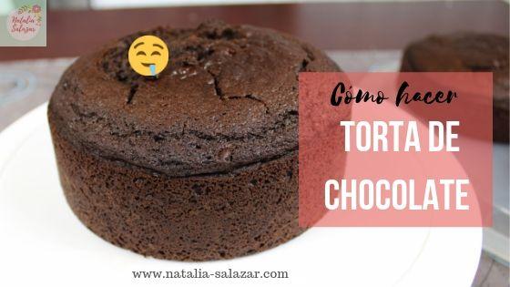Torta de chocolate natalia salazar