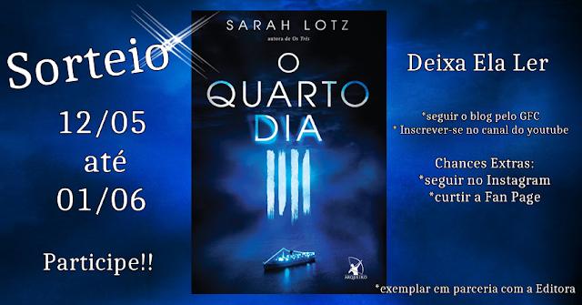 Promoção | Livro O Quarto Dia da autora Sarah Lotz