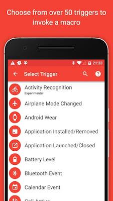 تطبيق MacroDroid - Device Automation Pro  للتحكم وإدارة مهام الهاتف للأندرويد