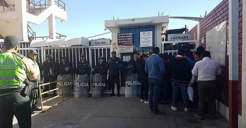 Más de 600 docentes no rindieron Prueba Única Nacional en Arequipa