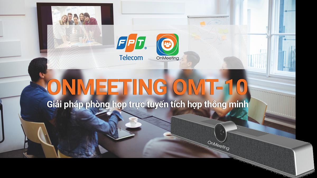 Thiết bị OnMeeting OMT-10 – cộng sự đắc lực cho buổi họp chuyên nghiệp